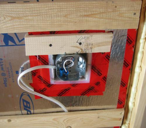 Pare air est il possible d 39 installer un pare air lors d for Installer prise electrique exterieure