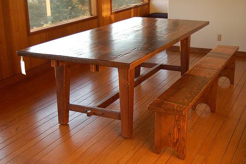 table basse bois de grange. Black Bedroom Furniture Sets. Home Design Ideas