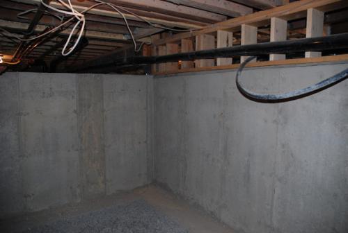 Sous sol est ce que je peux faire excaver une partie d 39 un vide sanitaire - Transformer un vide sanitaire en sous sol ...