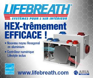 Lifebreath, Ventilation mécanique et Qualité de l'air ambiant