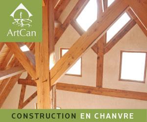 Artcan, pionnier de la construction en chanvre au Québec.