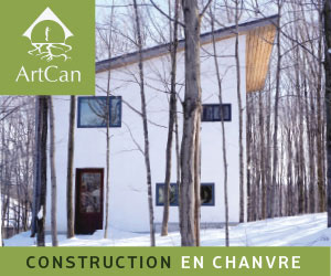 Artcan, pionnier de la construction en chanvre au Québec