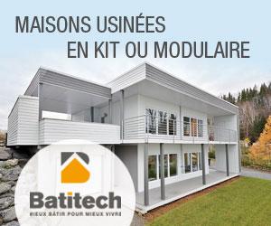 Batitech : une maison usinée de qualité adaptée à vos besoins