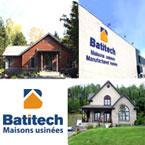 Batitech, maisons en kit, unimodulaires et édifices commerciaux écoénergétiques et abordables