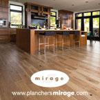 Boa-Franc/Mirage, Planchers de bois franc écologique, bois franc mirage, LEED, bois FSC, finis sans COV et sans formaldéhyde