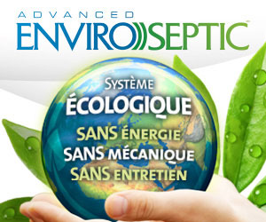Réinventer l'art de traiter et d'infiltrer les eaux usées. Système BIOLOGIQUE, ÉCOLOGIQUE, SANS électricité, SANS mécanique, SANS entretien