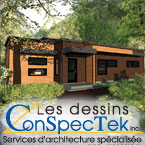 Les Dessins ConSpecTek - Services d'architecture, conception de plan de maison