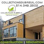 Collections Dubreuil, Constructeurs de maisons neuves écologiques dans la municipalité de Mirabel dans les Laurentides.