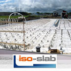 Iso-Slab, kit of insulated structural slab, ideal for garage, cabin, residential or commercial !.
