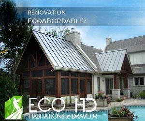 Éco-Habitations Le Draveur,  charpenterie traditionnelle et écologique