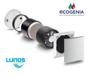 Écogénia, solutions d'économie d'énergie : ventilation, climatisation et chauffage efficaces