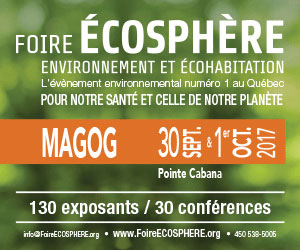 Foire Écosphère 2017 à Magog