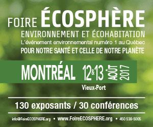 Foire Écosphère 2017 à Montréal