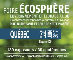 Foire Écosphère 2017 à Québec