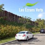 Les Écrans Verts : murs antibruit et clôtures végétales