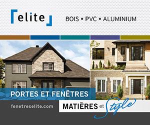 Fenêtres Élite, manufacturier de portes et fenêtres au Québec, la marque de confiance depuis plus de 35 ans. Portes et de fenêtres de qualité supérieure