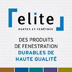 Fenêtres Élite, manufacturier de portes et fenêtres au Québec, la marque de confiance depuis plus de 35 ans.