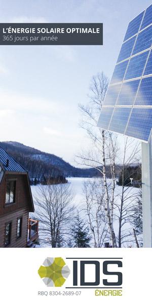 IDS Énergie est le spécialiste du Québec en énergie solaire photovoltaïque depuis plus de 15 ans