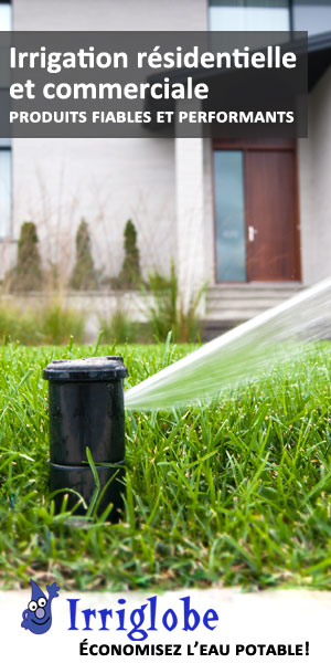 Irriglobe, spécialiste en installation de systèmes d'irrigation et d'arrosage automatique - qualité, économies d'eau, récupération d'eau de pluie, dispositif anti-refoulement