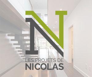 Spécialisée dans la rénovation résidentielle selon des principes écologiques, l'entreprise Les Projets de Nicolas a développé une technique unique de retrait de murs porteurs, de décloisonnement et de pose de poutres, et ce avec un souci inégal