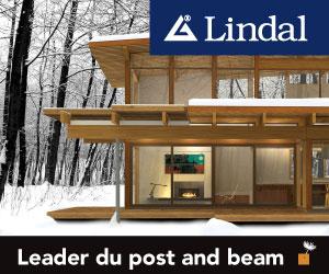 Maisons de cèdre en kit, en structure Post & Beam avec des matériaux de qualité supérieure séchés au four