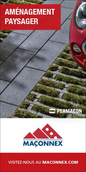 Maçonnex est l'un des plus importants distributeurs de produits pour l'aménagement paysager du Québec