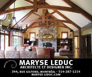 Maryse Leduc Architecte et Designer