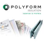 Polyform, coffrages isolants,panneaux isolants, polystyrène expansés, rendement énergétique