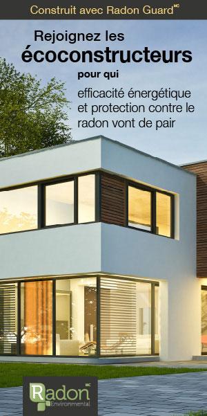 Radon Guard, de Radon Environmental: efficacité énergétique et protection contre le radon vont de pair