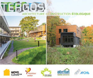 TERGOS architecture + construction écologique