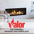 Valor, North America's exclusive designer, manufacturer & distributor of Energy efficient Radiant Gas Fireplaces