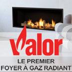 Foyers Valor : Le Premier foyer au gaz à chaleur rayonnante