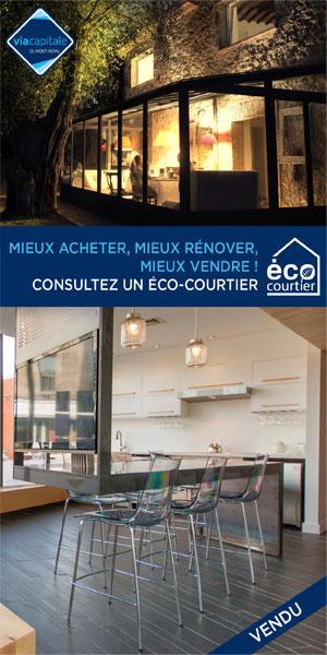 Via Capitale du Mont-Royal, maisons et condos à vendre, conseils de courtiers spécialisés en habitation écologique, Éco-Courtiers