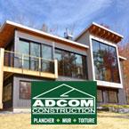 Adcom construction, bâtiment éco-énergétique, construction écologique, rénovation écologiques, maison ecologique, haut rendement énergétique, maison préfabriqué