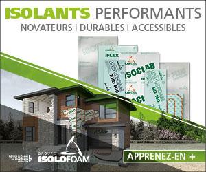 Isolofoam – panneaux isolants testés et éprouvés
