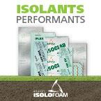 Groupe Isolofoam, Panneaux isolants éprouvés