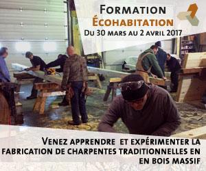 Formation: charpenterie traditionnelle en bois massif