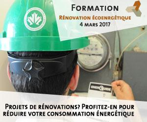 Formation Écohabitation: rénovation écoenergétique et durable