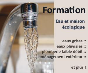 Formation Écohabitation Eau et maison écologique