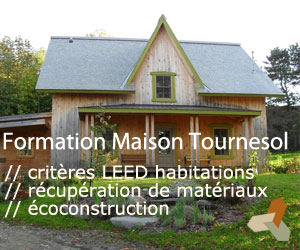Formation Écohabitation Maison Tournesol