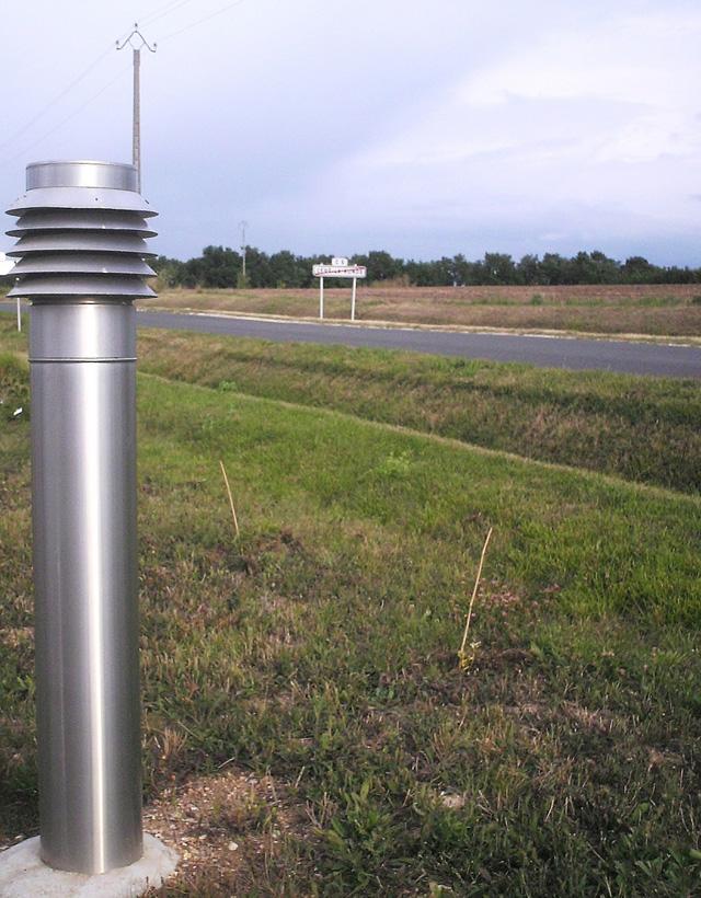 Le puits canadien pour pr chauffer l air frais mat riaux - Kit arrivee air frais ...