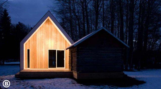 Maisons minimalistes: haute efficacité sur budget limité