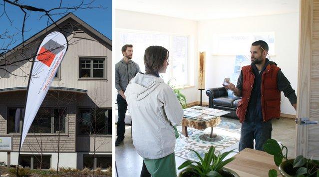 Des centaines de visiteurs à la première Fin de semaine portes ouvertes sur les habitations LEED