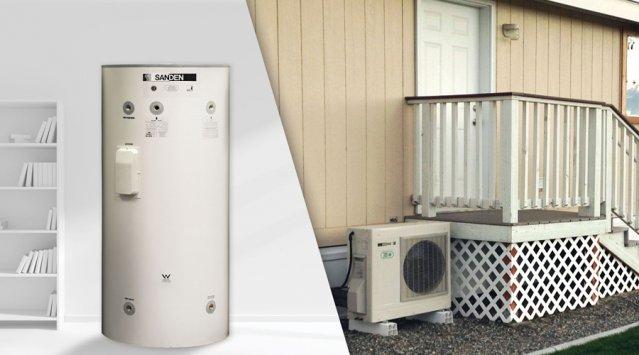 Produit du mois: le chauffe-eau pompe à chaleur avec compresseur extérieur