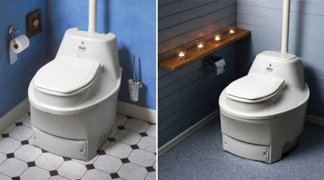 Des toilettes sèches, ou archi sèches?