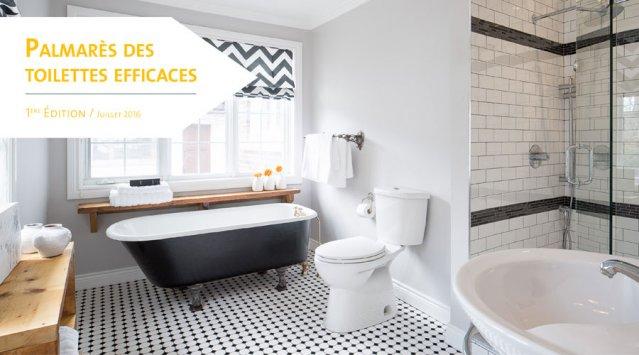 Découvrez notre tout nouveau Palmarès des toilettes efficaces et économisez de l'eau !
