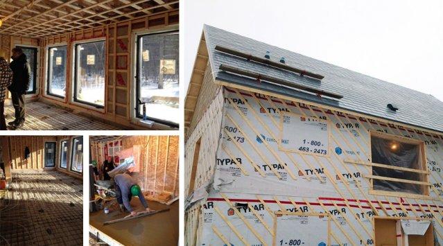 La maison ERE 132, une construction neuve aux objectifs d'efficacité très, très élevés!