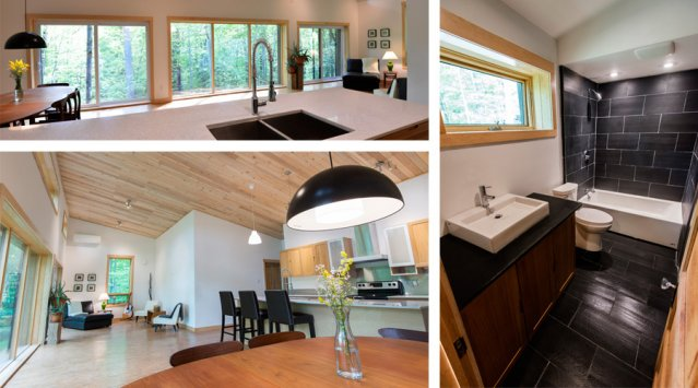 Edelweiss, une maison confortable et abordable qui consomme quatre fois moins d'énergie que la maison québécoise moyenne