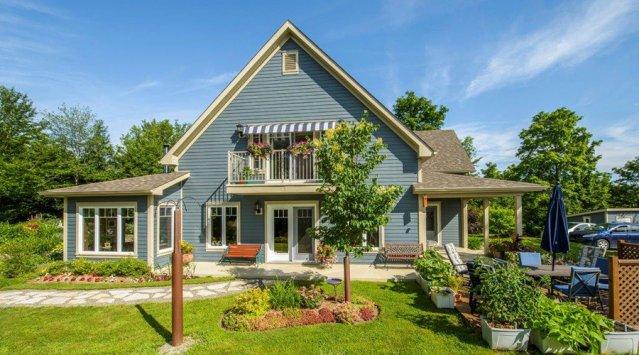 Magnifique maison solaire passive, vue & accès aux lacs