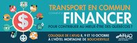 Colloque annuel de l'Association du transport urbain du Québec (ATUQ)